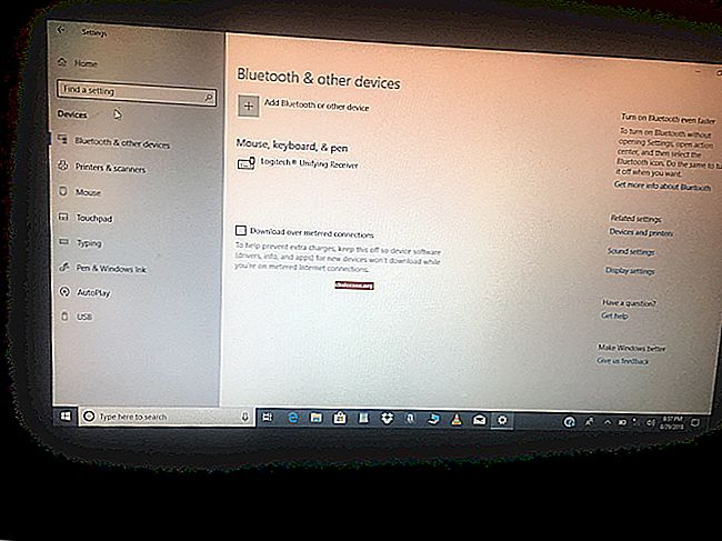 V sistemu Windows 10 manjka ikona Bluetooth