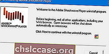 odinstalační program adobe-flash-shockwave-uninstaller