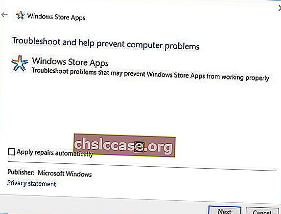 Windows-10-store-apps-troubleshooter
